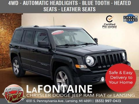 Certified Pre-Owned 2017 Jeep Patriot Latitude 4WD 4D Sport Utility