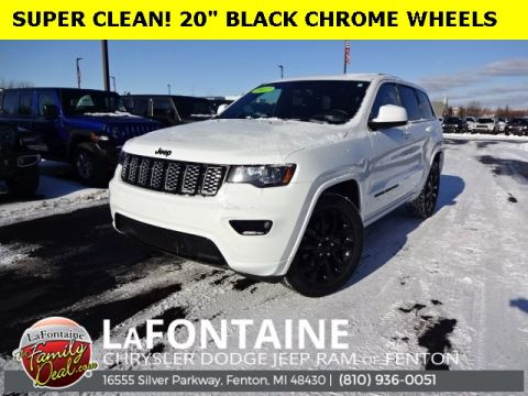 Certified Pre-Owned 2017 Jeep Grand Cherokee Altitude 4WD 4D Sport Utility