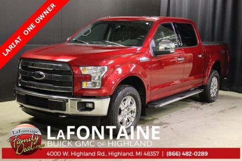2017 Ford F-150 Lariat 4WD SUPERCREW