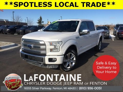 Pre-Owned 2015 Ford F-150 Platinum 4WD 4D SuperCrew