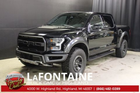 Pre-Owned 2018 Ford F-150 Raptor 4WD 4WD 4D SuperCrew