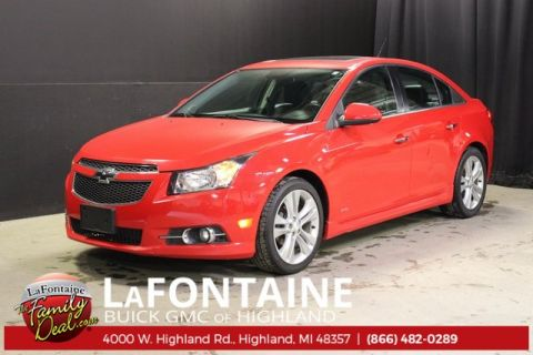 2014 Chevrolet Cruze LTZ RS PACKAGE