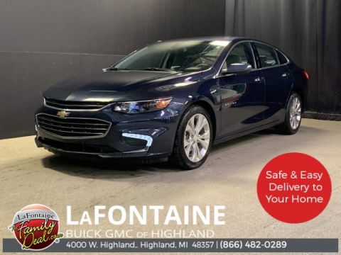 Certified Pre-Owned 2017 Chevrolet Malibu Premier FWD 4D Sedan
