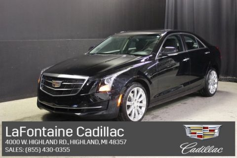 Certified Pre-Owned 2018 Cadillac ATS 2.0L Turbo Luxury AWD 4D Sedan