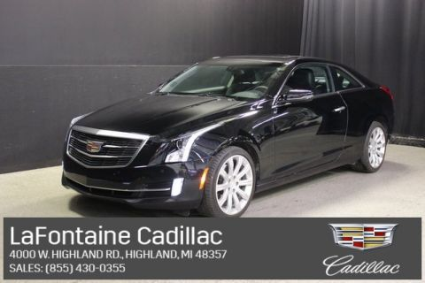 Certified Pre-Owned 2017 Cadillac ATS 2.0L Turbo Luxury AWD 2D Coupe