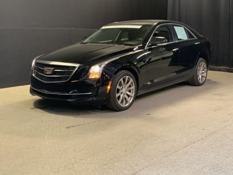 Certified Pre-Owned 2017 Cadillac ATS 2.0L Turbo Luxury AWD 4D Sedan