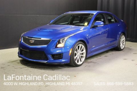 Certified Pre-Owned 2017 Cadillac ATS-V Base RWD 4D Sedan