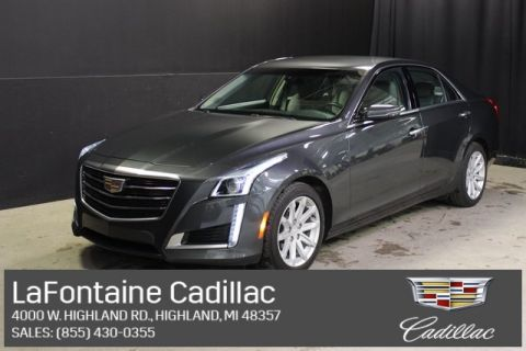 Certified Pre-Owned 2016 Cadillac CTS 2.0L Turbo AWD AWD 4D Sedan