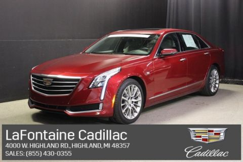 Certified Pre-Owned 2018 Cadillac CT6 3.6L Luxury AWD 4D Sedan