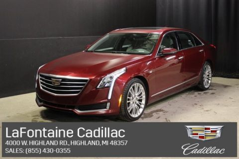 Certified Pre-Owned 2016 Cadillac CT6 3.0L Twin Turbo Luxury AWD AWD 4D Sedan