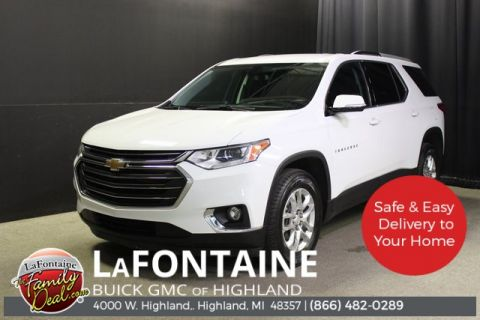 Certified Pre-Owned 2018 Chevrolet Traverse LT Cloth w/1LT FWD 4D Sport Utility