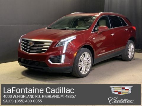 Certified Pre-Owned 2017 Cadillac XT5 Premium Luxury AWD 4D Sport Utility