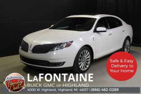 Pre-Owned 2015 Lincoln MKS Base AWD 4D Sedan