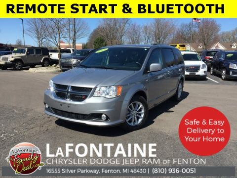 Certified Pre-Owned 2019 Dodge Grand Caravan SXT FWD 4D Passenger Van