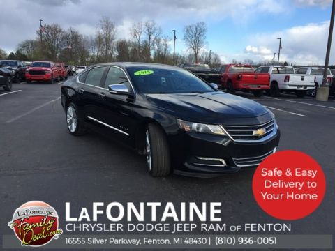 Pre-Owned 2015 Chevrolet Impala LTZ FWD 4D Sedan