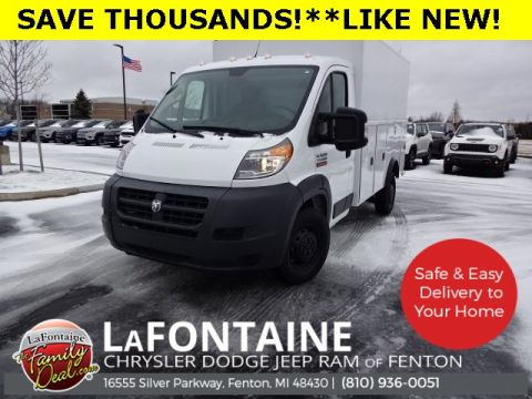 Pre-Owned 2018 Ram ProMaster 3500 Cutaway **READING CSV ALUMINUM SERVICE BODY** FWD Specialty Vehicle
