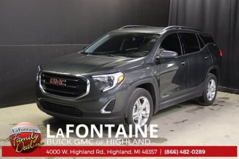 Certified Pre-Owned 2018 GMC Terrain SLE AWD 4D Sport Utility