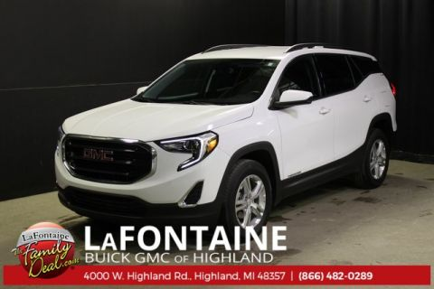 Certified Pre-Owned 2018 GMC Terrain SLE AWD AWD 4D Sport Utility