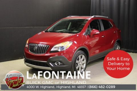 Certified Pre-Owned 2016 Buick Encore Premium AWD 4D Sport Utility
